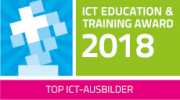 Logo ICT Education und Training Award 2018