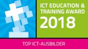Logo ICT Education und Training Award 2018